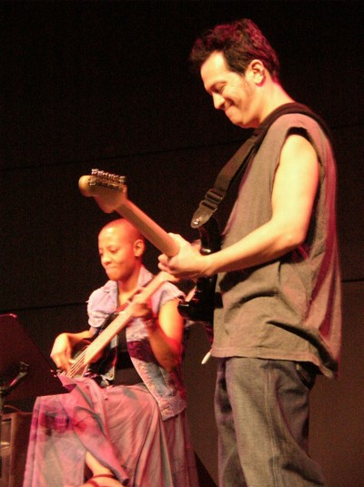 Gail Ann Dorsey And Mitch Stein