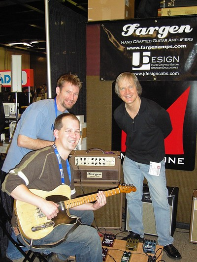 Ben ,Jeff and Jim at Namm 2007