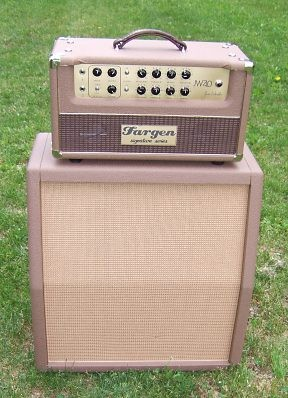 JW40 Amp with new CAB
