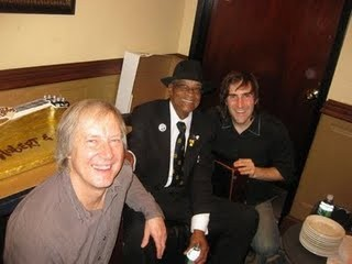 Jim with Hubert Sumlin