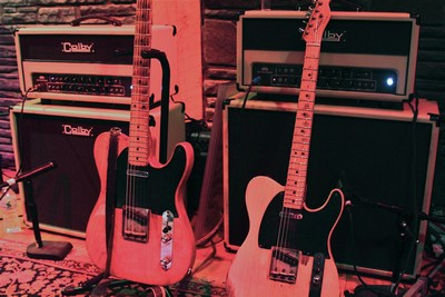 52 Tele and 53 Tele with Colby  dtbamp